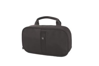 Несессер VICTORINOX Lifestyle Accessories 4.0 Overmight Essentials Kit, чёрный, нейлон, 23x4x13 см